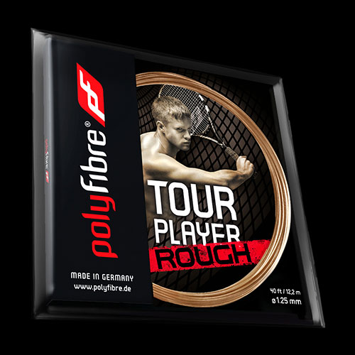 Tenisový výplet Polyfibre Tour Player Rough - 1.25mm, set 12m